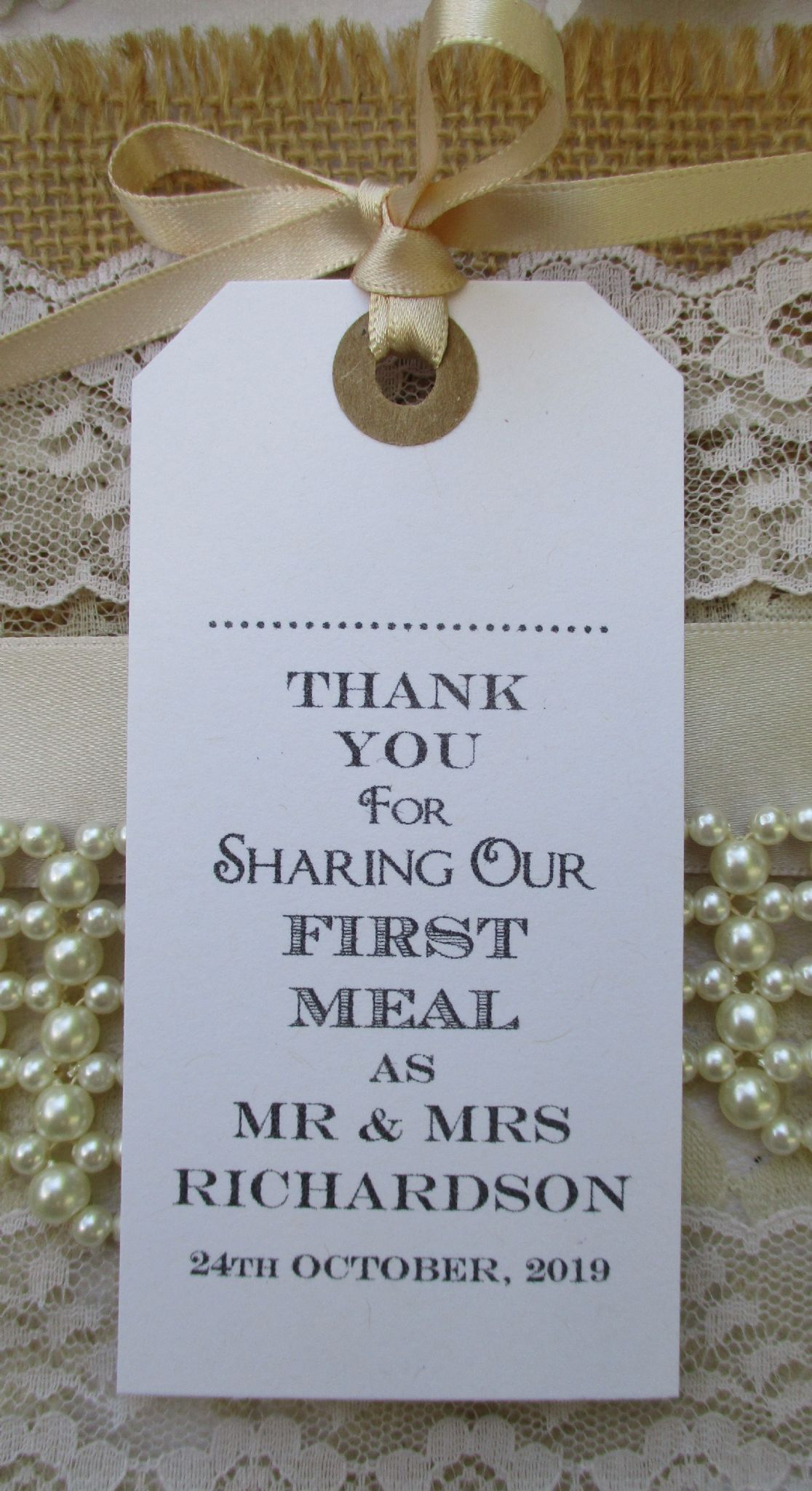 Name place for wedding