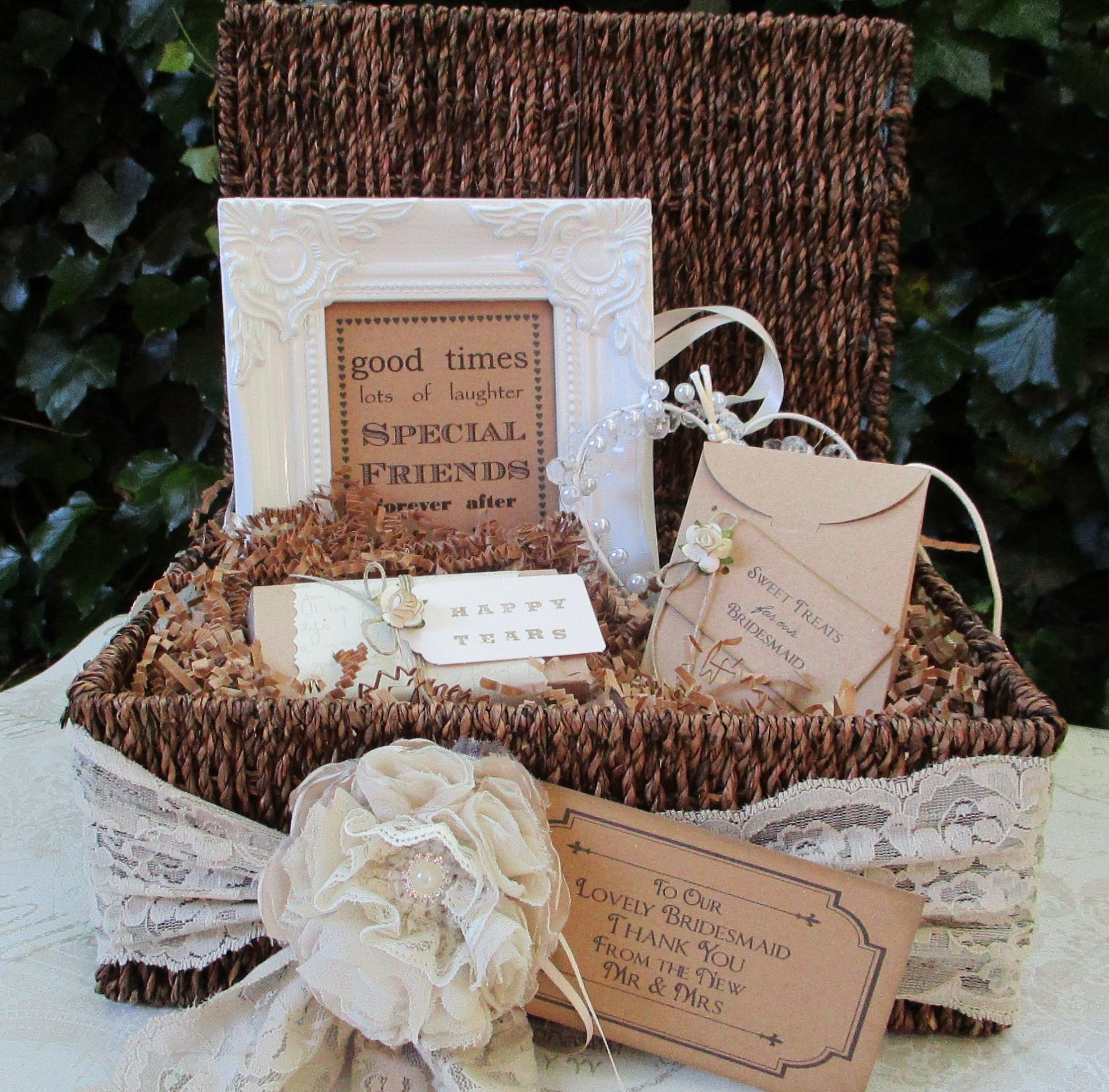 Wedding Gift Hampers Uk: Bridesmaid Thank You Gift Hamper