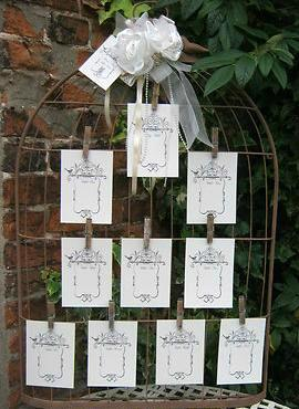 TABLE PLANS & TABLE NUMBERS